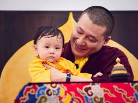 Prière commune des deux Karmapas pour le prompt retour du 15e Shamarpa Img_5510