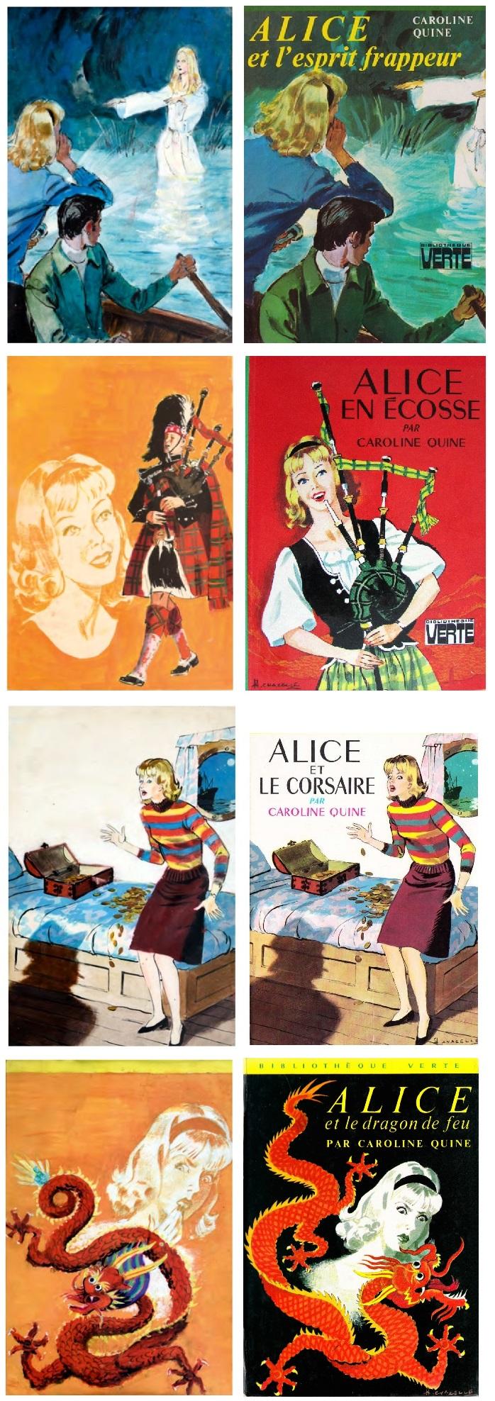 """Alice"" : les ébauches d'Albert Chazelle. Chazel26"