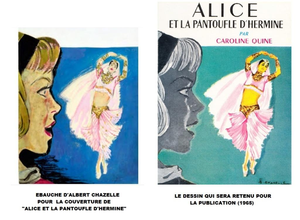 """""""Alice"""" : les ébauches d'Albert Chazelle. Pantou10"""