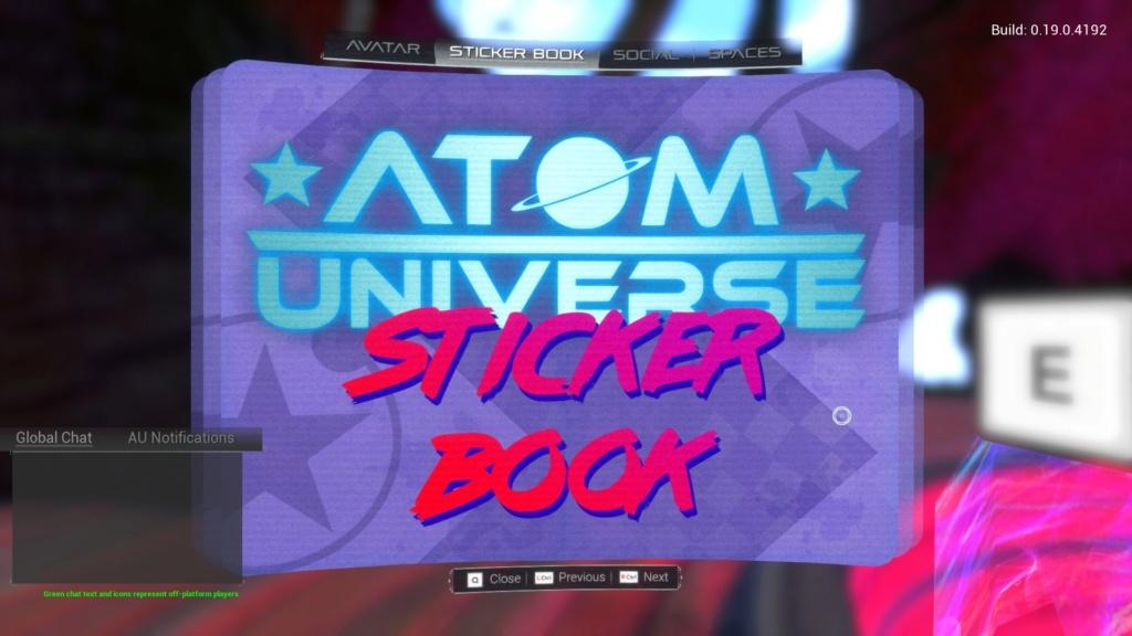 Recompensas Atom Universe 20180810