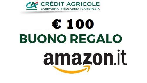 CONTO EASY CRÉDIT AGRICOLE regala BUONO AMAZON € 100 [promozione scaduta il 31/10/2019] Cattur10