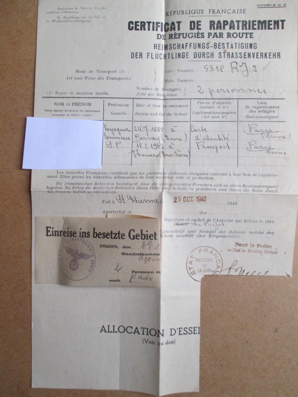 Certificat de rapatriement de réfugiés par route Img_1941