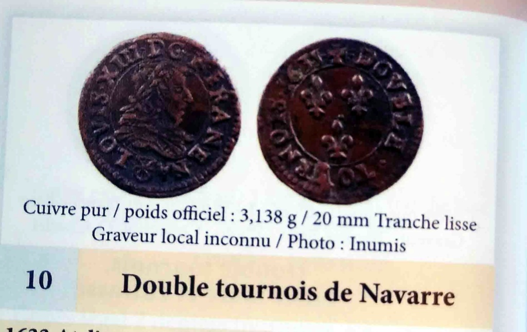 Francia, luis XIII : Doble Tournois de 1643 Double10