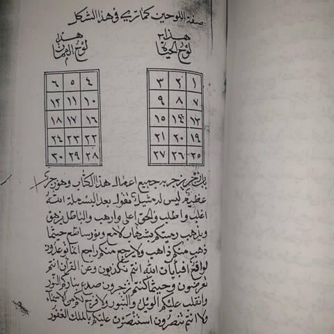 مخطوط كشف البراهين واثبات اليقين (كنز المعزمين) Eeeoei14