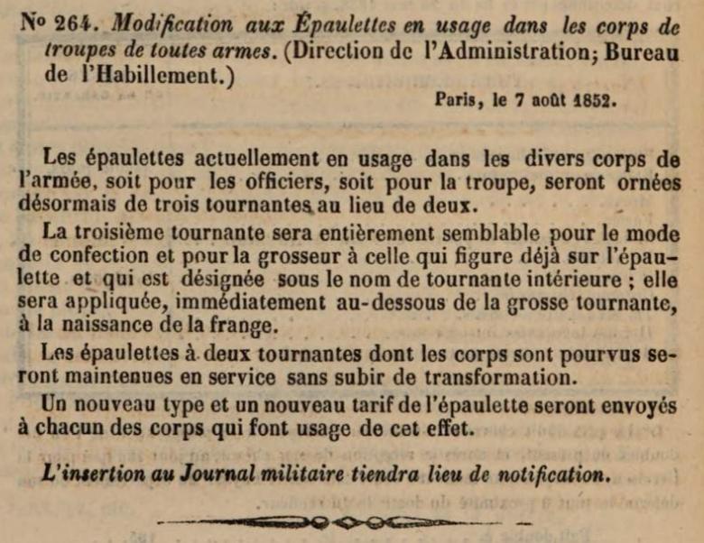 Epaulettes 185210