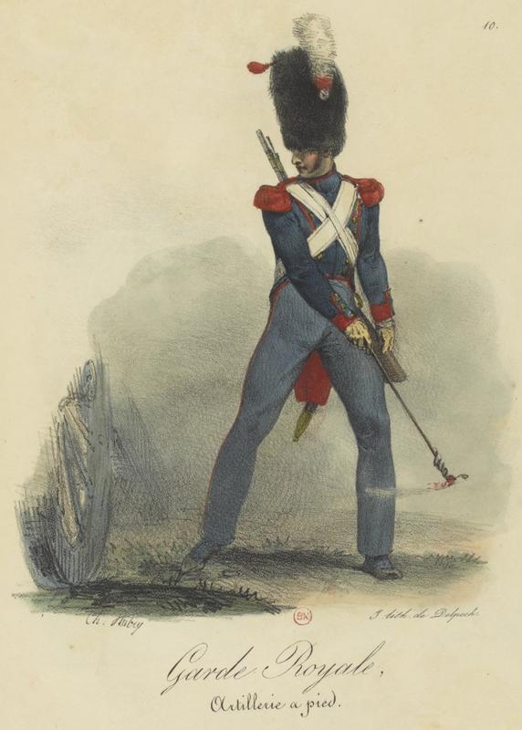Sabre d'artillerie modèle 1816 (glaive) Art_1810