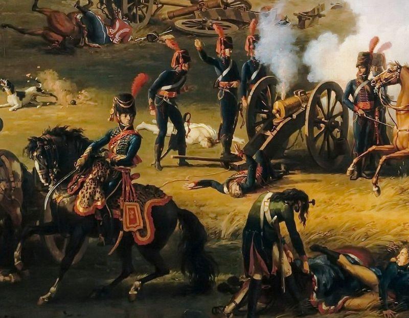 Sabre de l'artillerie à cheval de la garde des Consuls Lejeun10