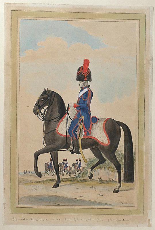 Sabre de l'artillerie à cheval de la garde des Consuls Produi11