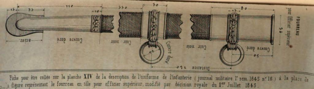 Sabre d'officier supérieur d'infanterie modèle 1845 - Page 3 Wasser11