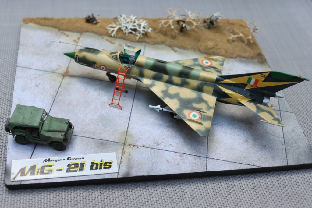 MIG 21 Bis India Air Force (RV aircraft au 1/72) ( fini page 6 ) - Page 6 Img_0925