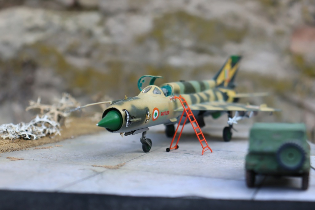 MIG 21 Bis India Air Force (RV aircraft au 1/72) ( fini page 6 ) - Page 6 Img_0928