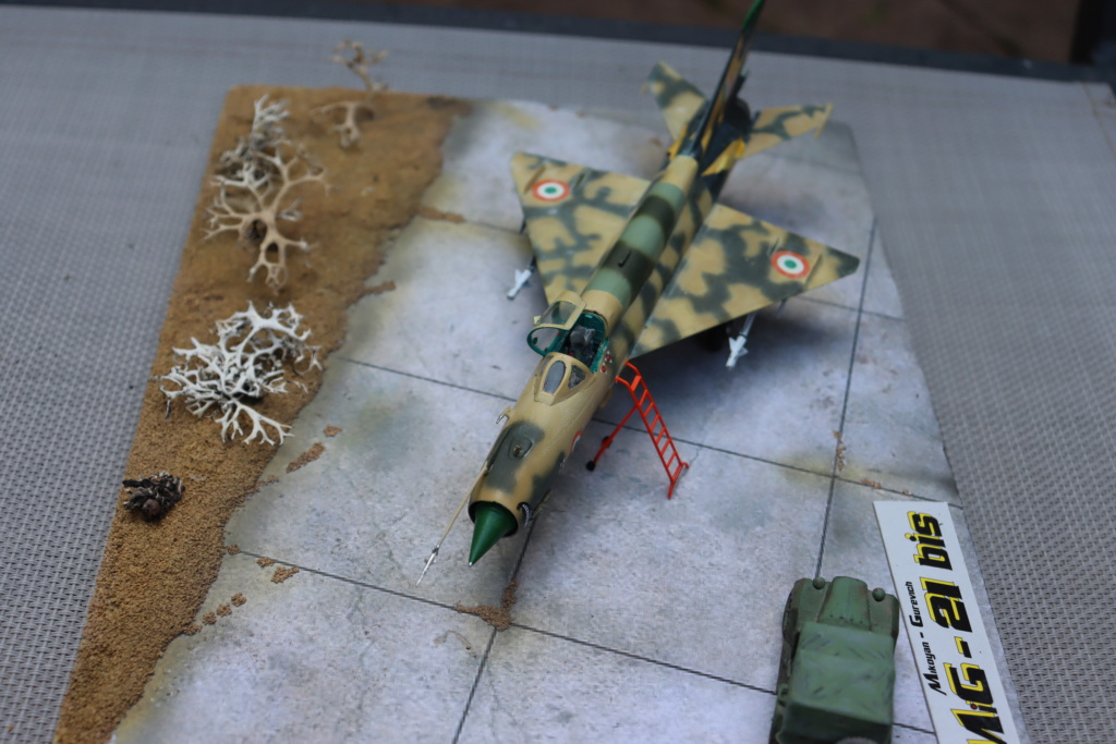 MIG 21 Bis India Air Force (RV aircraft au 1/72) ( fini page 6 ) - Page 6 Img_0929