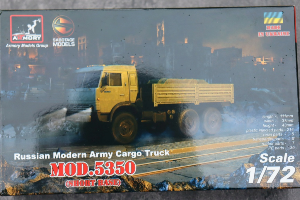 Ouvre boite camion Russe 5350 ( Armory 1/72 ) Img_1016
