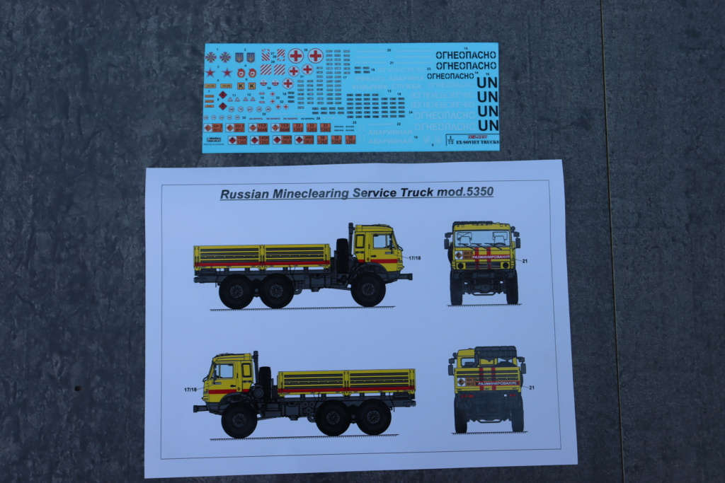 Ouvre boite camion Russe 5350 ( Armory 1/72 ) Img_1022