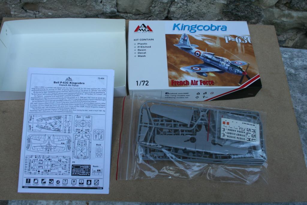 Bell P63C kingcobra ( AMG 1/72) Img_3419