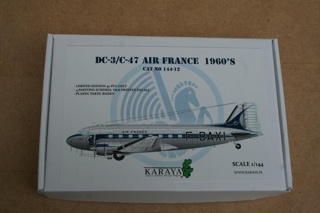 Fil rouge 2019 : DC3/C47 AIR FRANCE (KARAYA au 1/144) *** Terminé en pg 2 Img_3425