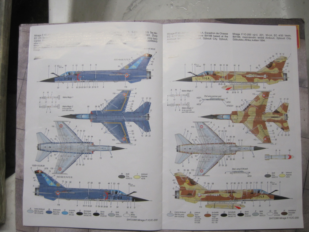 Mirage F1 C Normandie Niemen ( Special - Hobby au 1/72 )  Img_8632