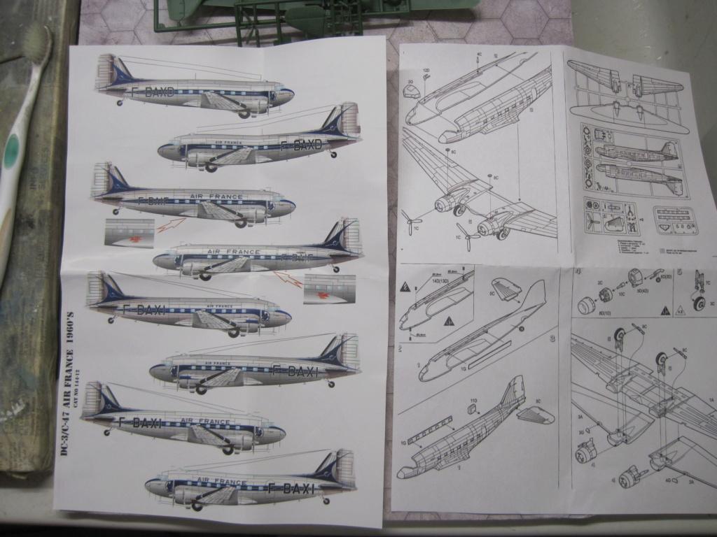Fil rouge 2019 : DC3/C47 AIR FRANCE (KARAYA au 1/144) *** Terminé en pg 2 Img_8655