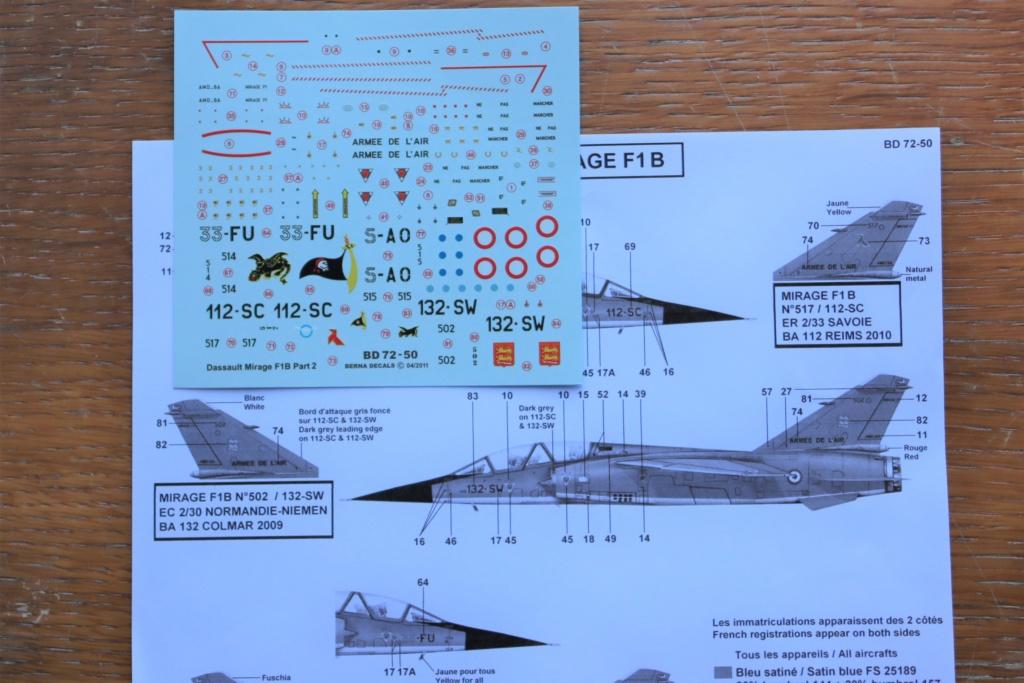 Mirage F1 B NORMANDIE NIEMEN ( special hobby 1/72) fini p4 Img_9458