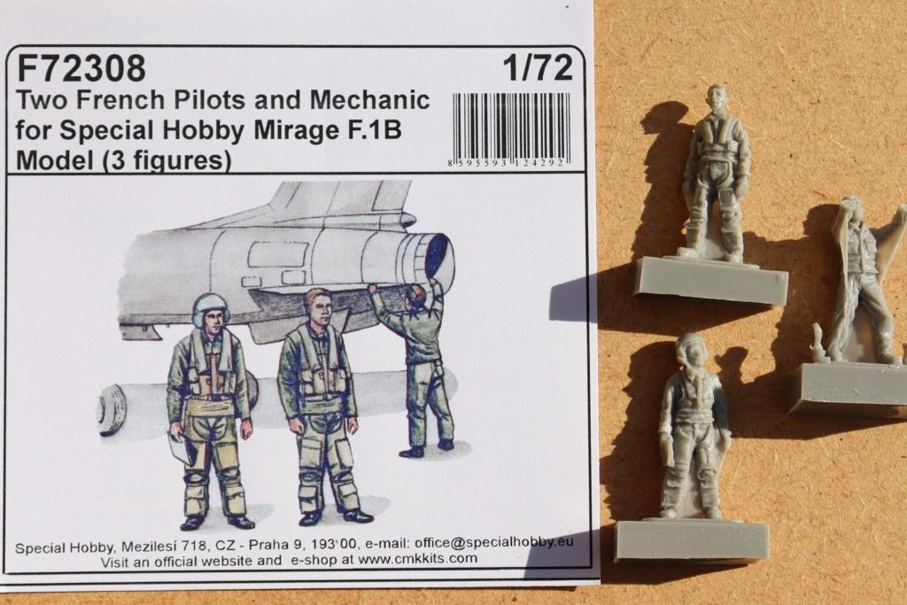 Mirage F1 B NORMANDIE NIEMEN ( special hobby 1/72) fini p4 Img_9459