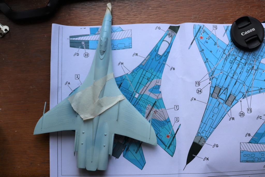 Sukhoi T10 (MODELVIST 1/72) - Page 3 Img_9556