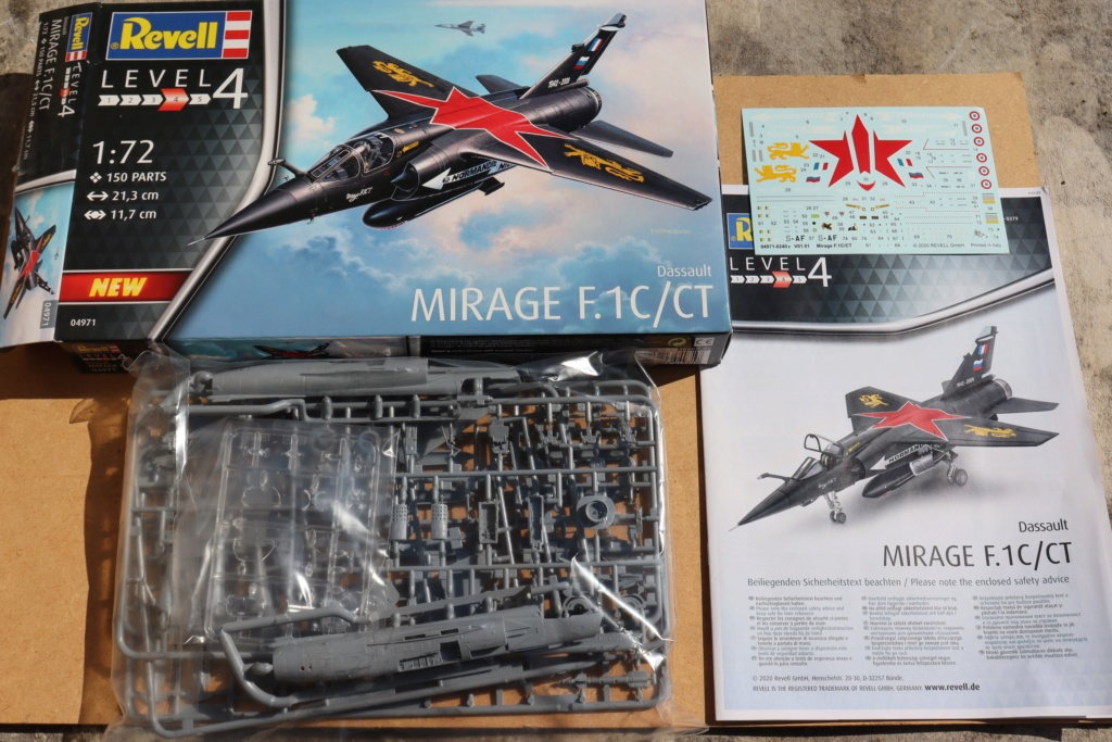 Mirage F1 CT déco spécial ( 1/72 REVELL ) Img_9562