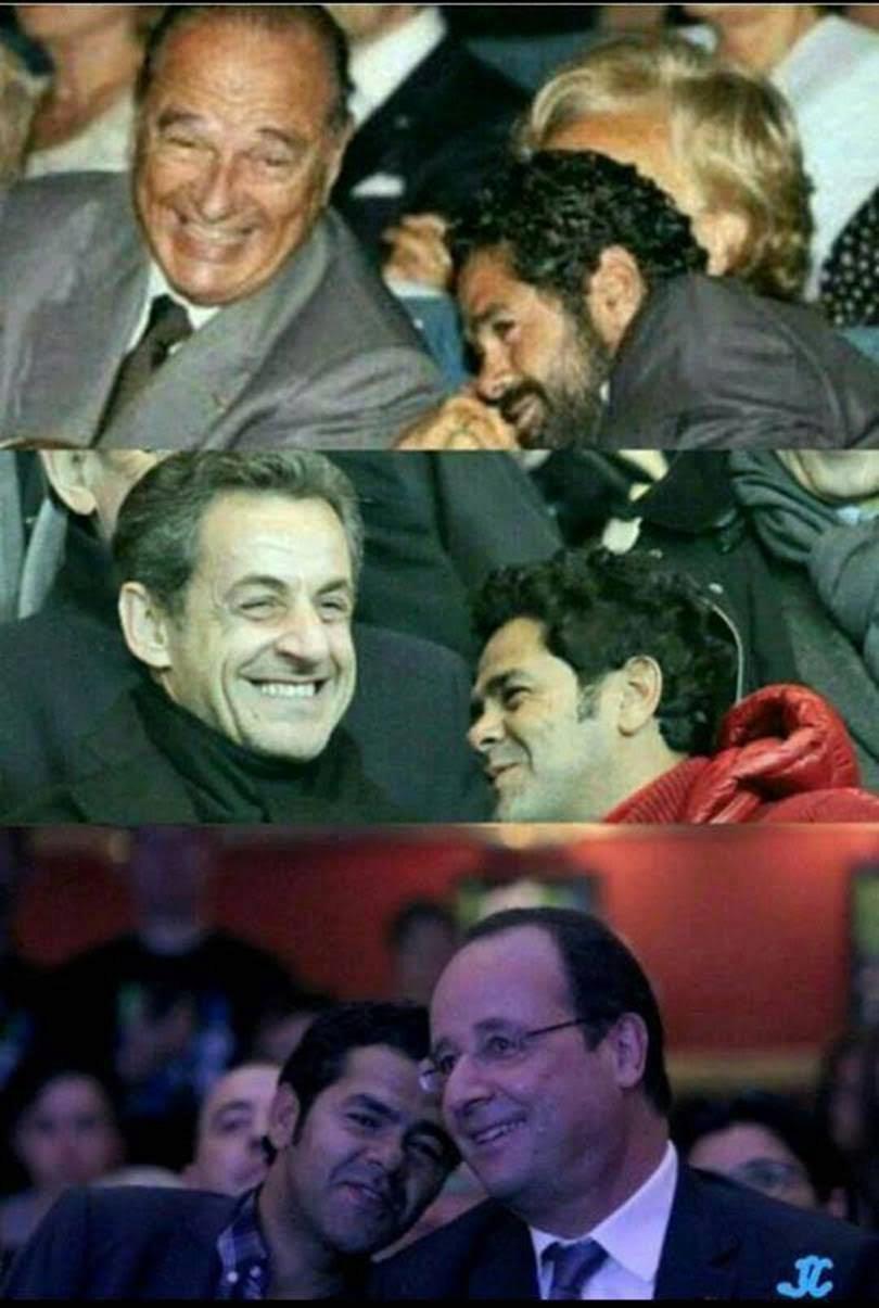 Jamel Debbouze courtisé par Macron  Images10