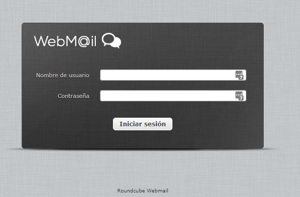 No están llegando los correos a Webmail 2019-110