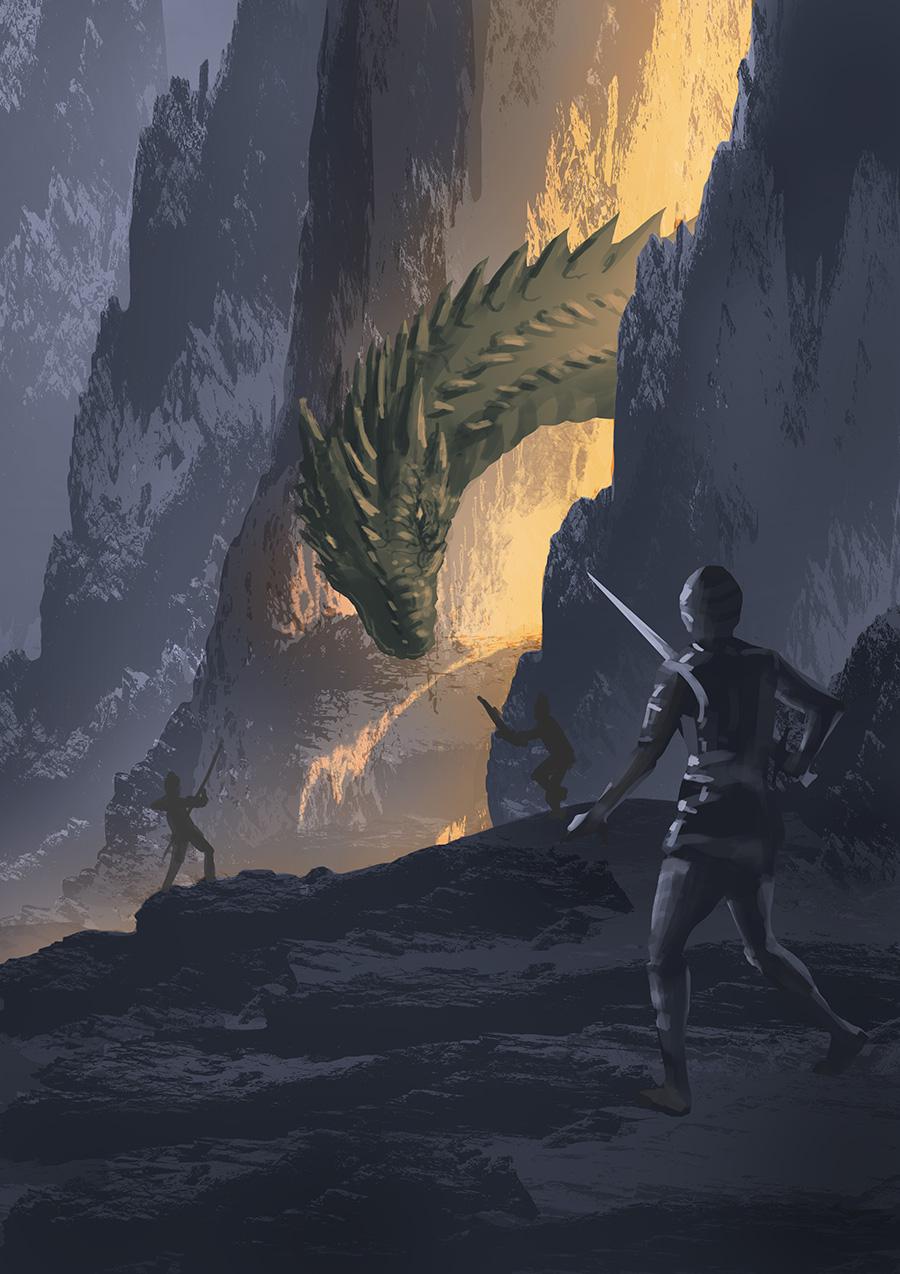 Croquis, WIP & Cie Dragon14