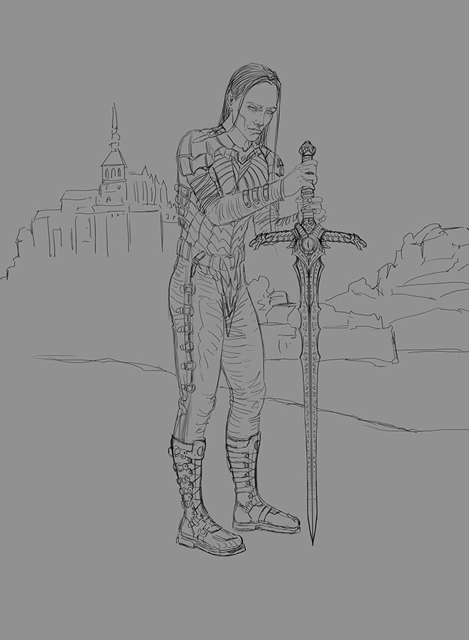 Croquis, WIP & Cie - Page 3 Elric-10