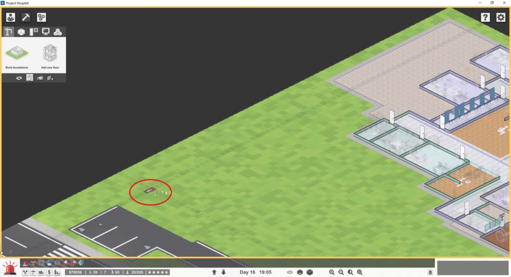 [RESOLVED BACKLOG] Piece of road in building area not removable Road10