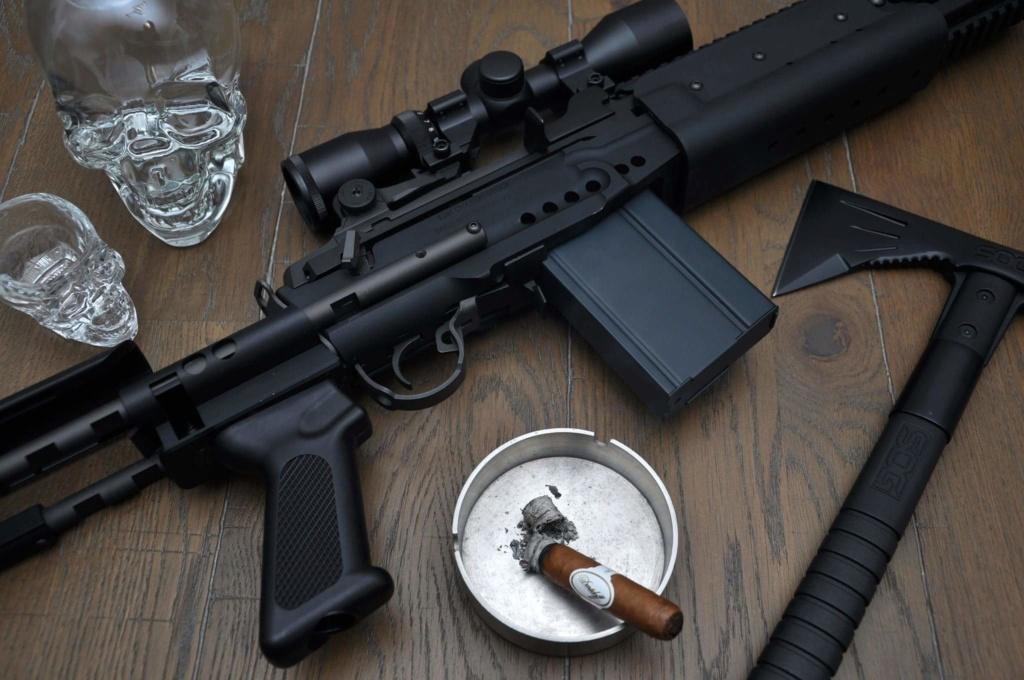 M14 ebr version longue G&G custom M14_eb10