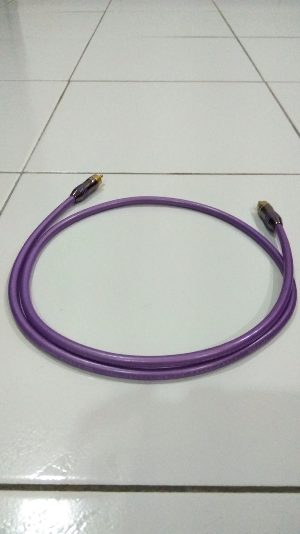 QED Qunex P75 Precision Co-Axial Cable Img_2010