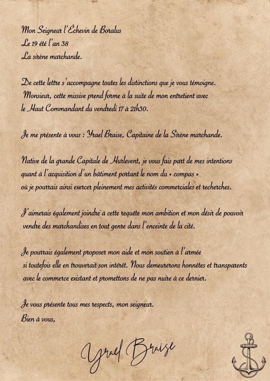 Correspondance Yrael Braise Missiv12