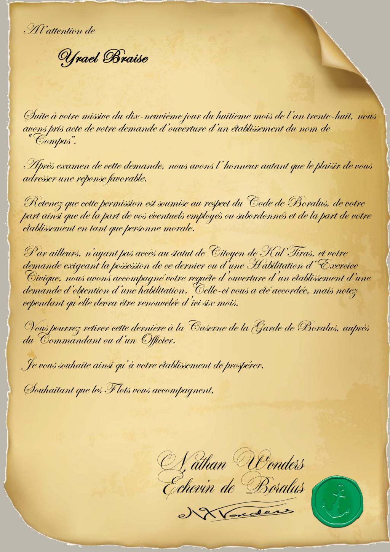 Correspondance Yrael Braise Repons11