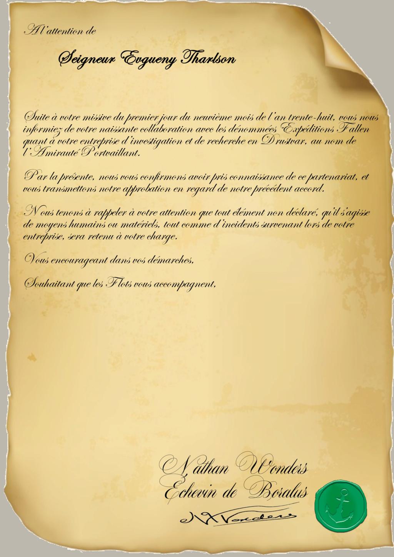 Correspondance Evgueny Tharlson Repons17