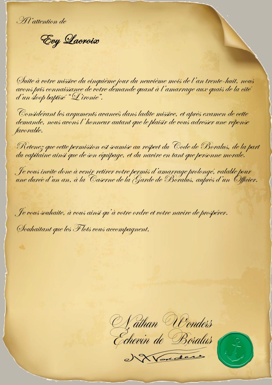 Correspondance Evy Lacroix Repons19