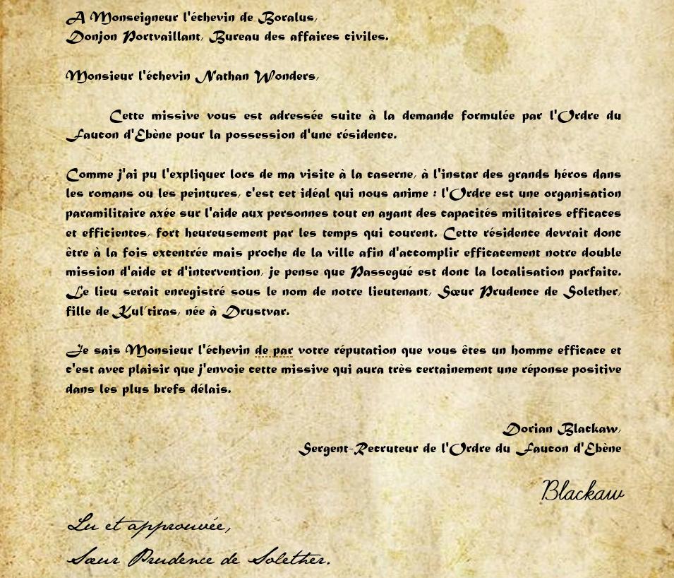 Correspondance Prudence de Solether Unknow10