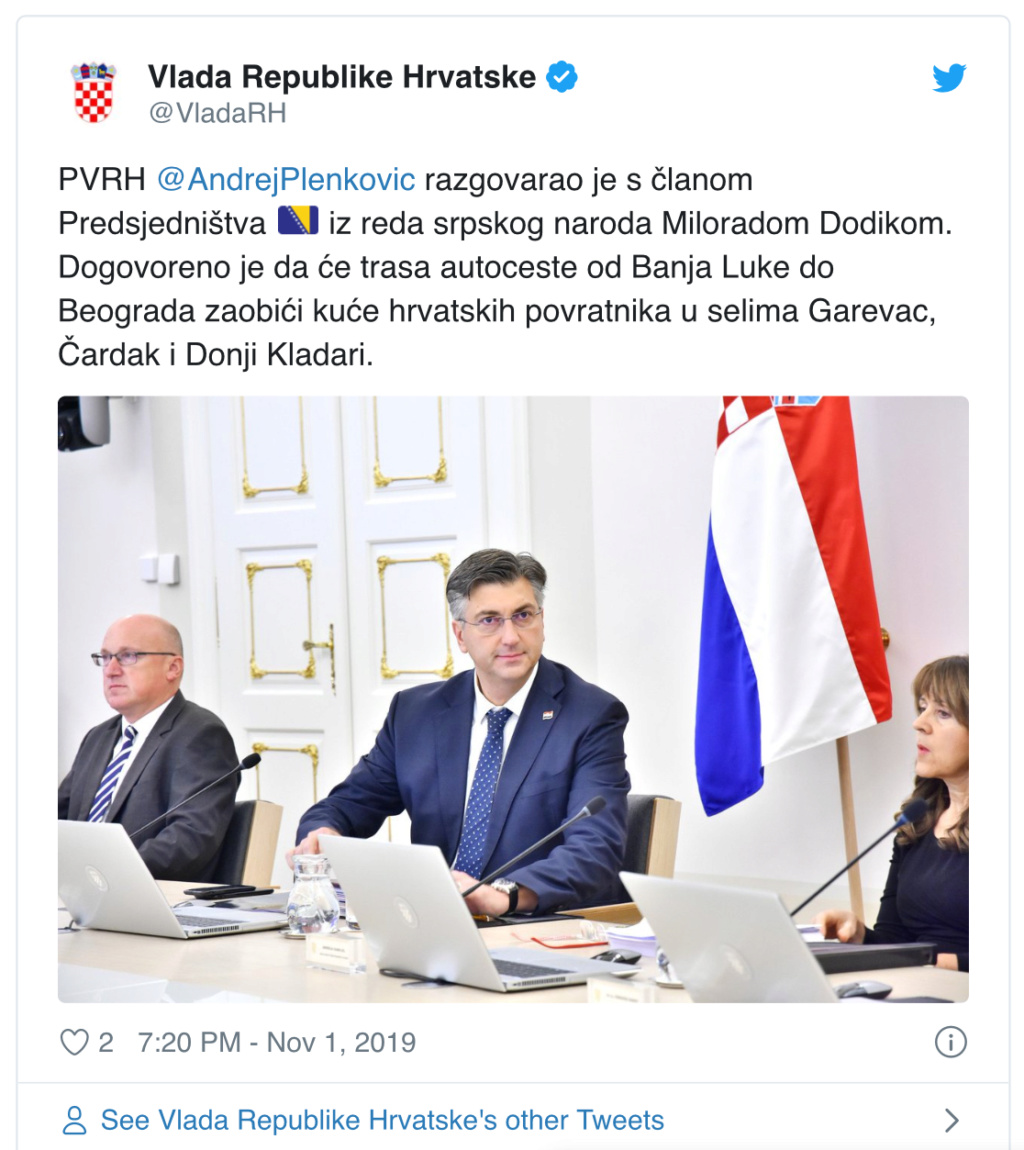 Mijenja se trasa autoceste kroz RS, kuće Hrvata u Modriči neće se rušiti 98e22c10
