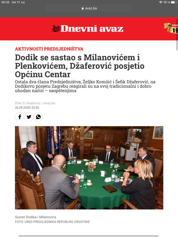 Dodik u srijedu u Zagrebu, sastanak sa Milanovićem i Plenkovićem - Page 13 Cc7dd410
