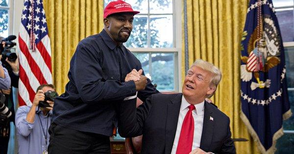 Mediji razapeli Kanye Westa nakon susreta sa Trumpom Dpqvrn10
