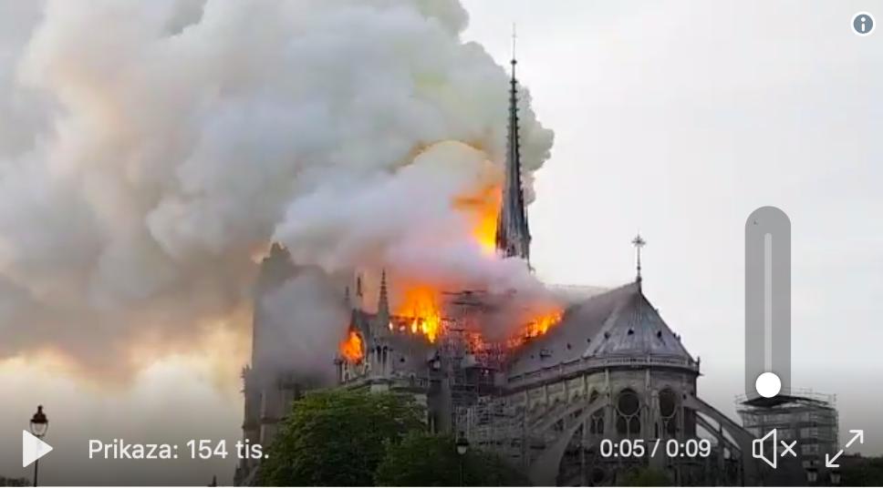 Gori Notre Dame u Parizu Slika215