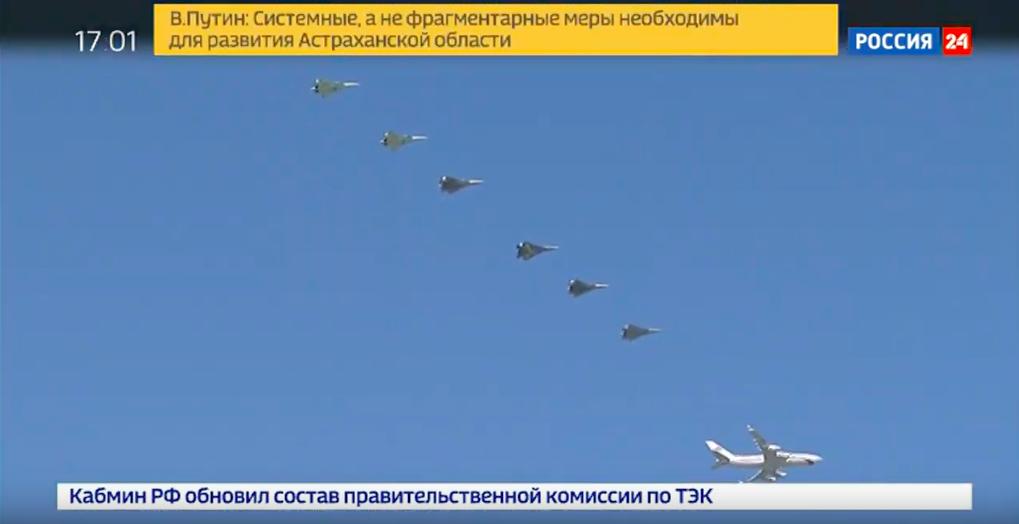 Putina pred sastanak sa Pompeom prati 6 Su-57 Slika225