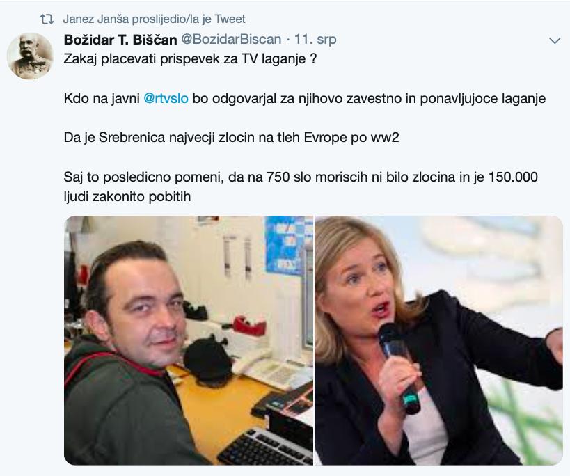 Desnica u Sloveniji: Srebrenica nije največi zločin u europi nakon WW2... to su Titovi pokolji nakon WW2 Slika248