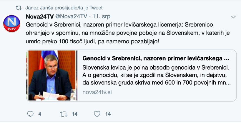 Desnica u Sloveniji: Srebrenica nije največi zločin u europi nakon WW2... to su Titovi pokolji nakon WW2 Slika249