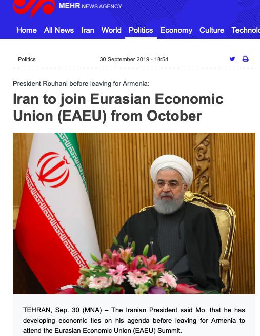 Iran ulazi u Euroazijsku Uniju Slika283