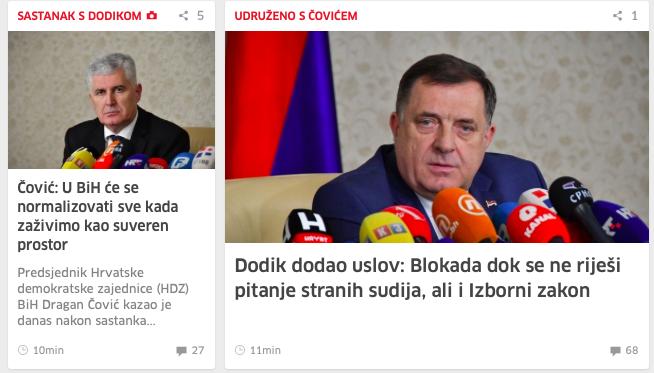Dodik: Zato će se sve ovo završiti tako što će Republika Srpska biti država, Herceg-Bosna druga i neka Bosna, gdje će biti Bošnjaci - rekao je Dodik. - Page 3 Slika331