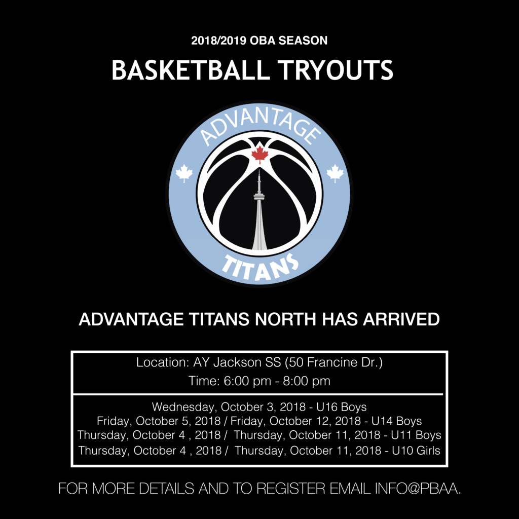 Advantage Titans North U16 Boys Tryout  Advant11