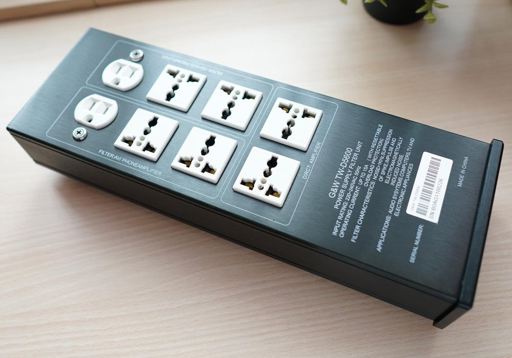 G&W TW-D5600 Hifi Audio Pure AC Power Filter Socket Gw_0110