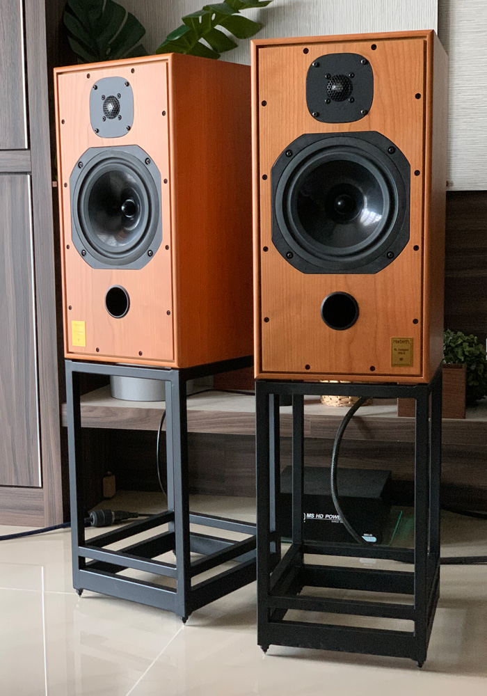[SOLD] Harbeth C7ES3 speaker with stand Ha_0010